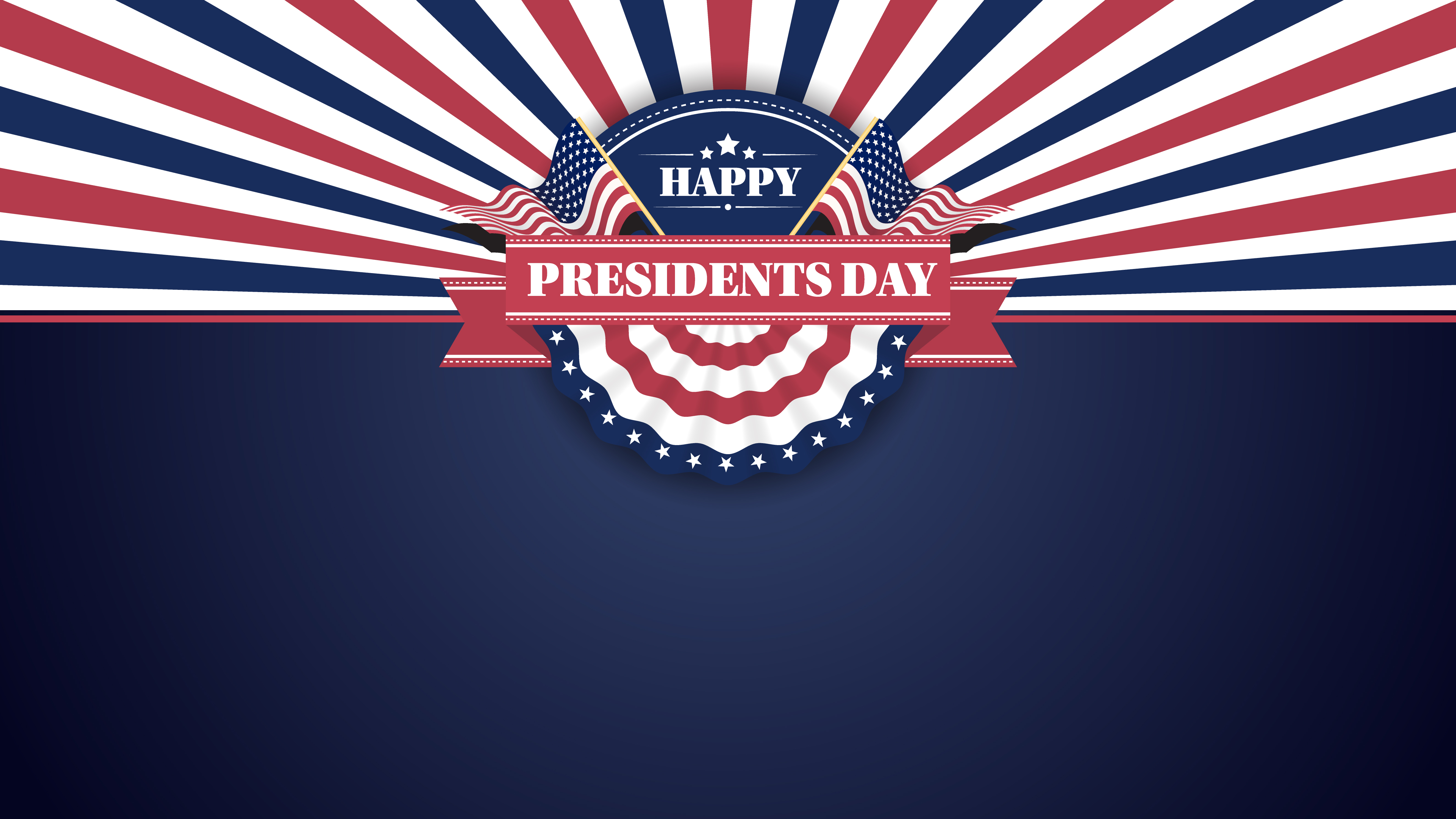 happy presidents day banner background and greeting cards