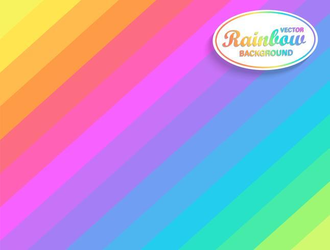 Fundo diagonal de arco-íris.