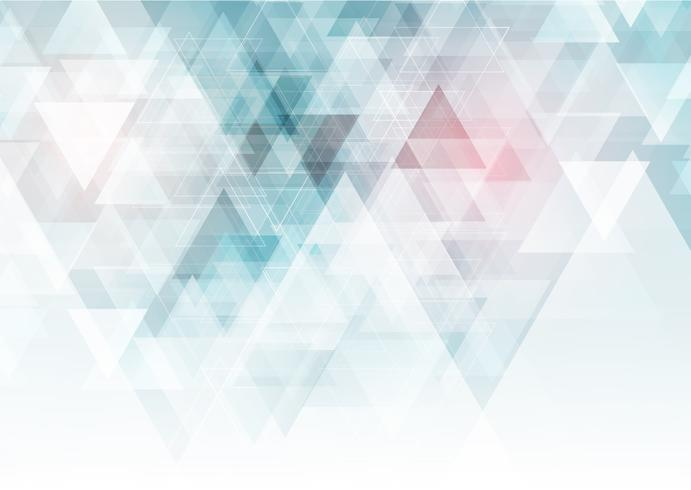 Low poly geometric background vector