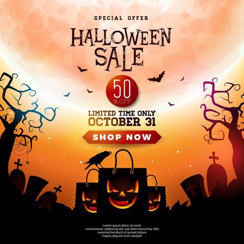 Halloween Sale illustration