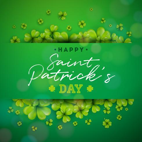 Happy Saint Patrick's Day achtergrond vector