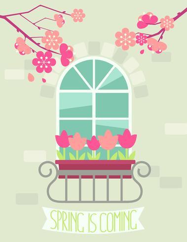 La primavera sta arrivando.