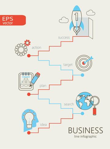 Infographic of business.