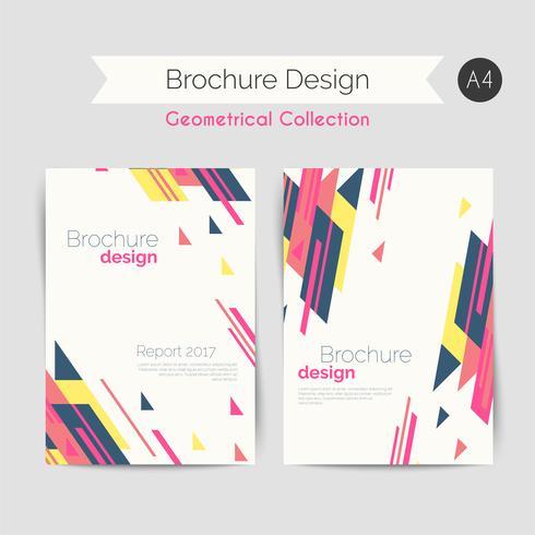 Brochure géométrique A4