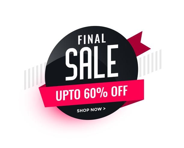 sale banner badge for your business