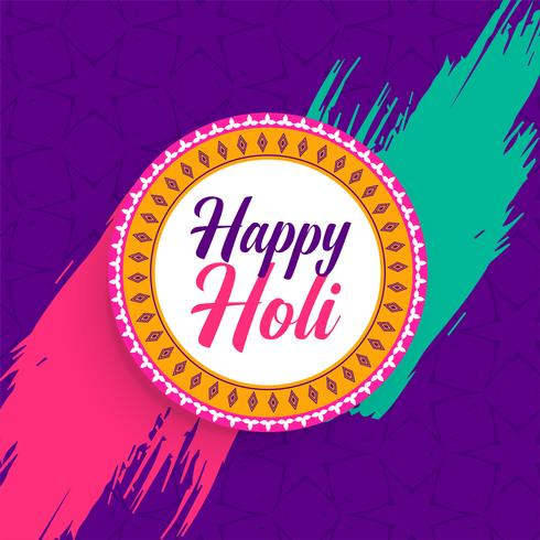 indisk lycklig holi festival bakgrund