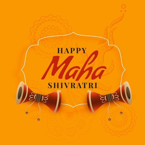 maha shivratri festival hälsning design