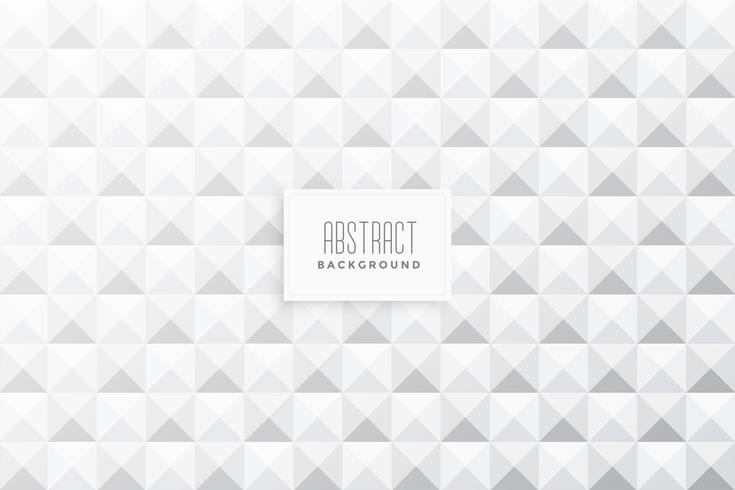 abstract 3d triangles shape white background