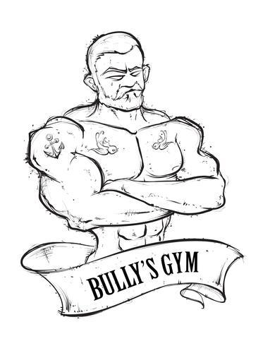 Bully's Gym vector