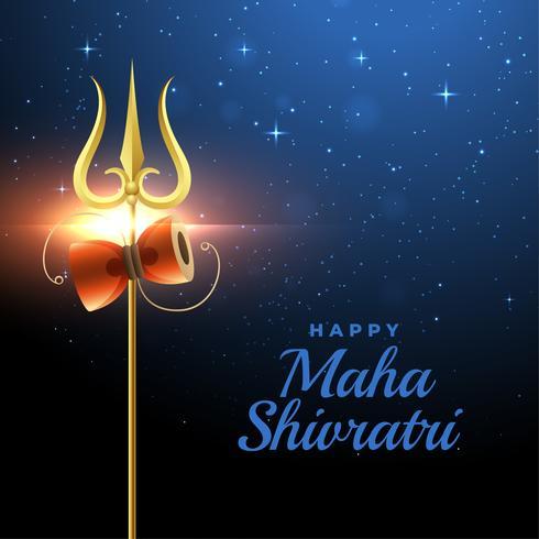 cumprimento feliz do festival do shivratri do maha