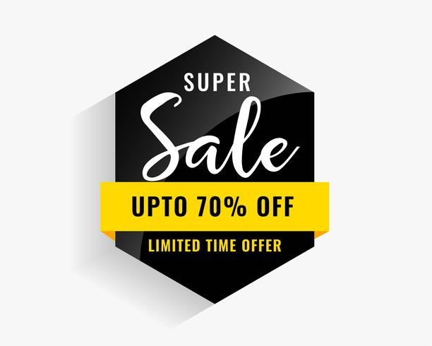 modern sale badge for your business