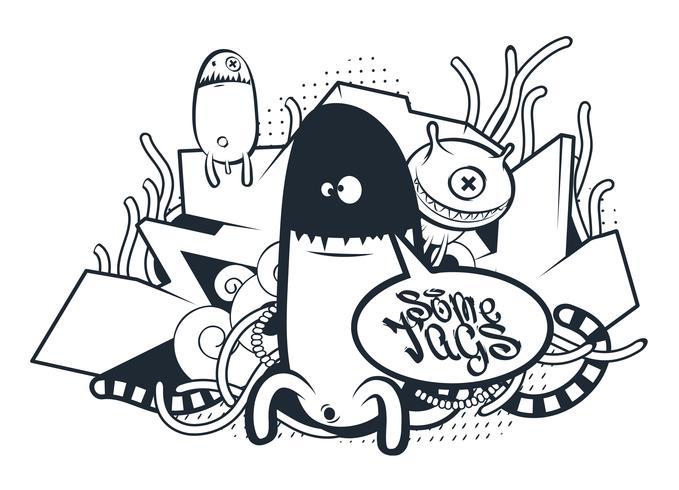 graffiti doodle kunst