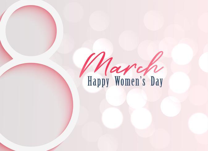 glückliche Frauentag Feier Hintergrund