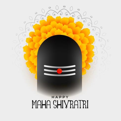 maha shivratri festival diseño de fondo