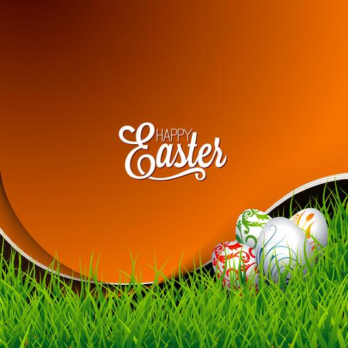 Easter holiday Illustration vector