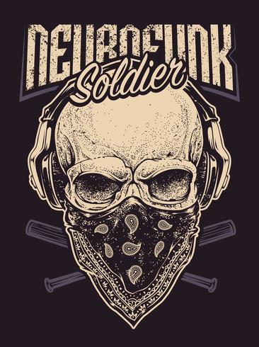 Soldado Neurofunk vetor