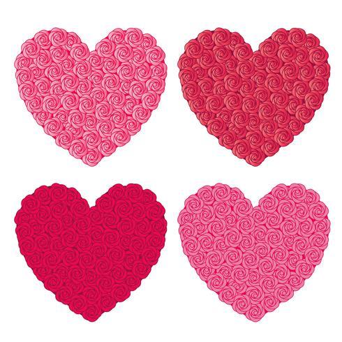 cuori di rosa