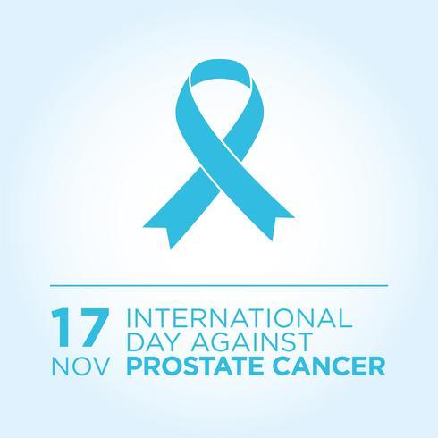 Dia Internacional Contra Banner De Câncer De Próstata.
