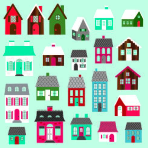 house vector clipart