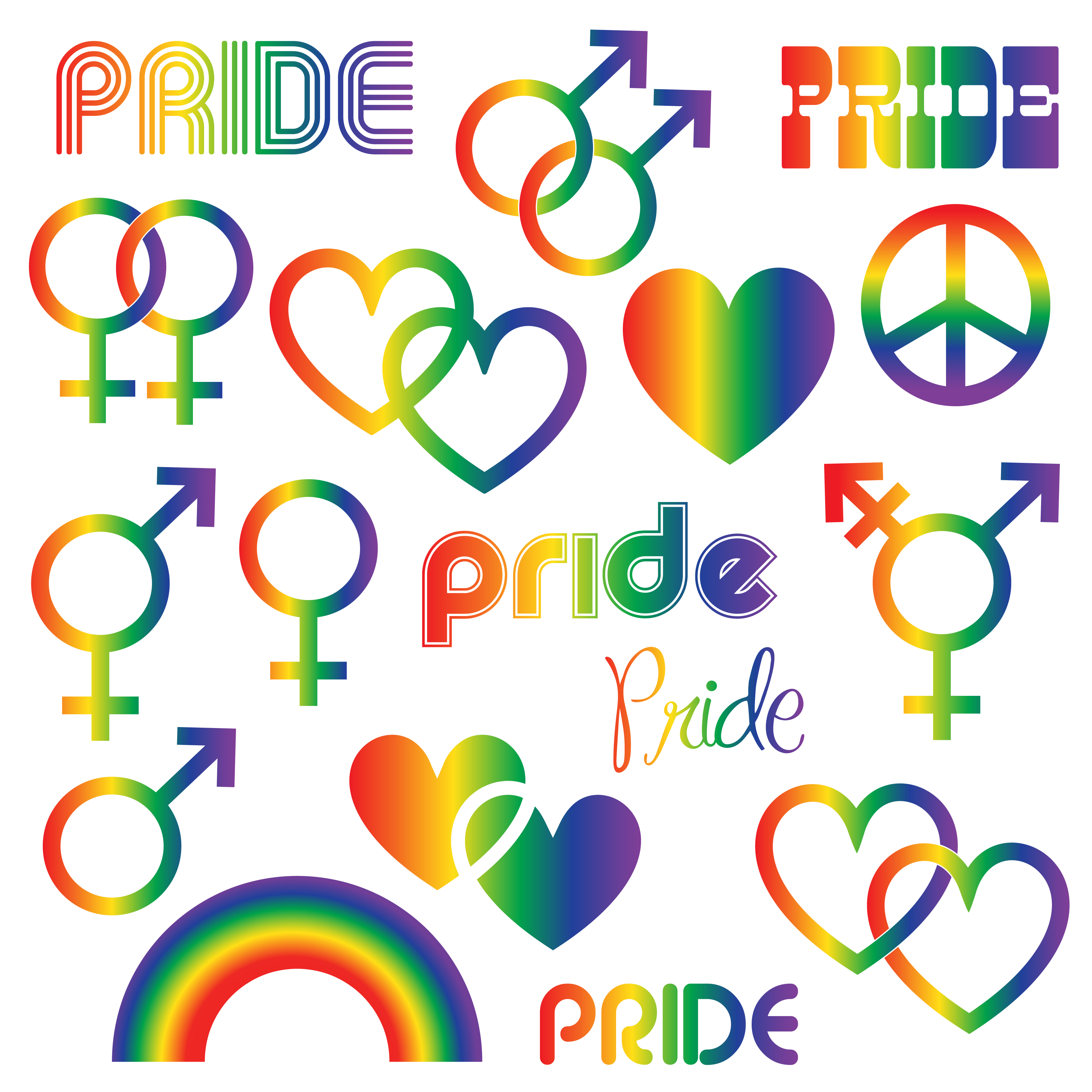 Best Gay Pride Free Vector Art Downloads from the