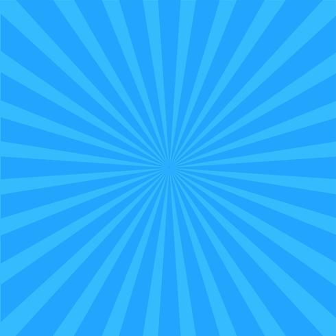 Heldere blauwe stralenachtergrond.