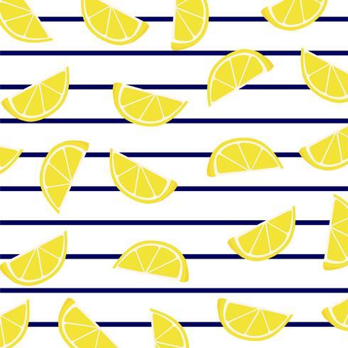 Rodajas de limón sobre rayas marinas.