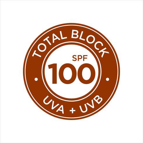 UV, protección solar, Total Block SPF 100
