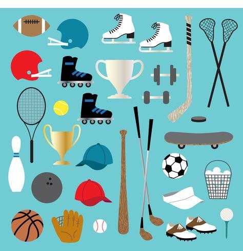 sports clipart vector