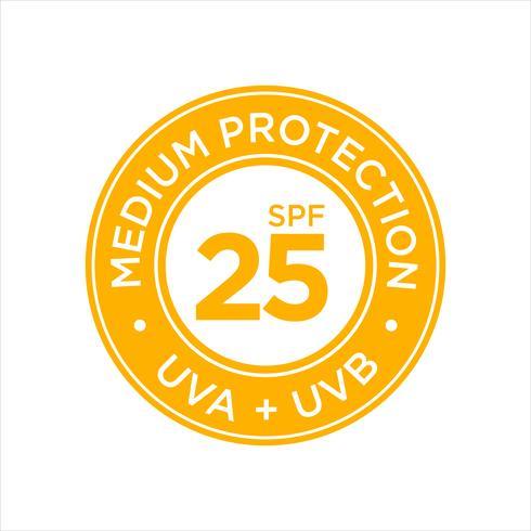 UV-, zonwering, medium SPF 25