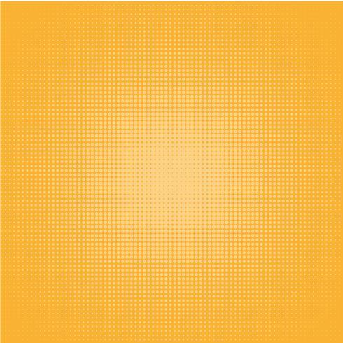 Pop Art Background, Punkte auf orange Hintergrund.