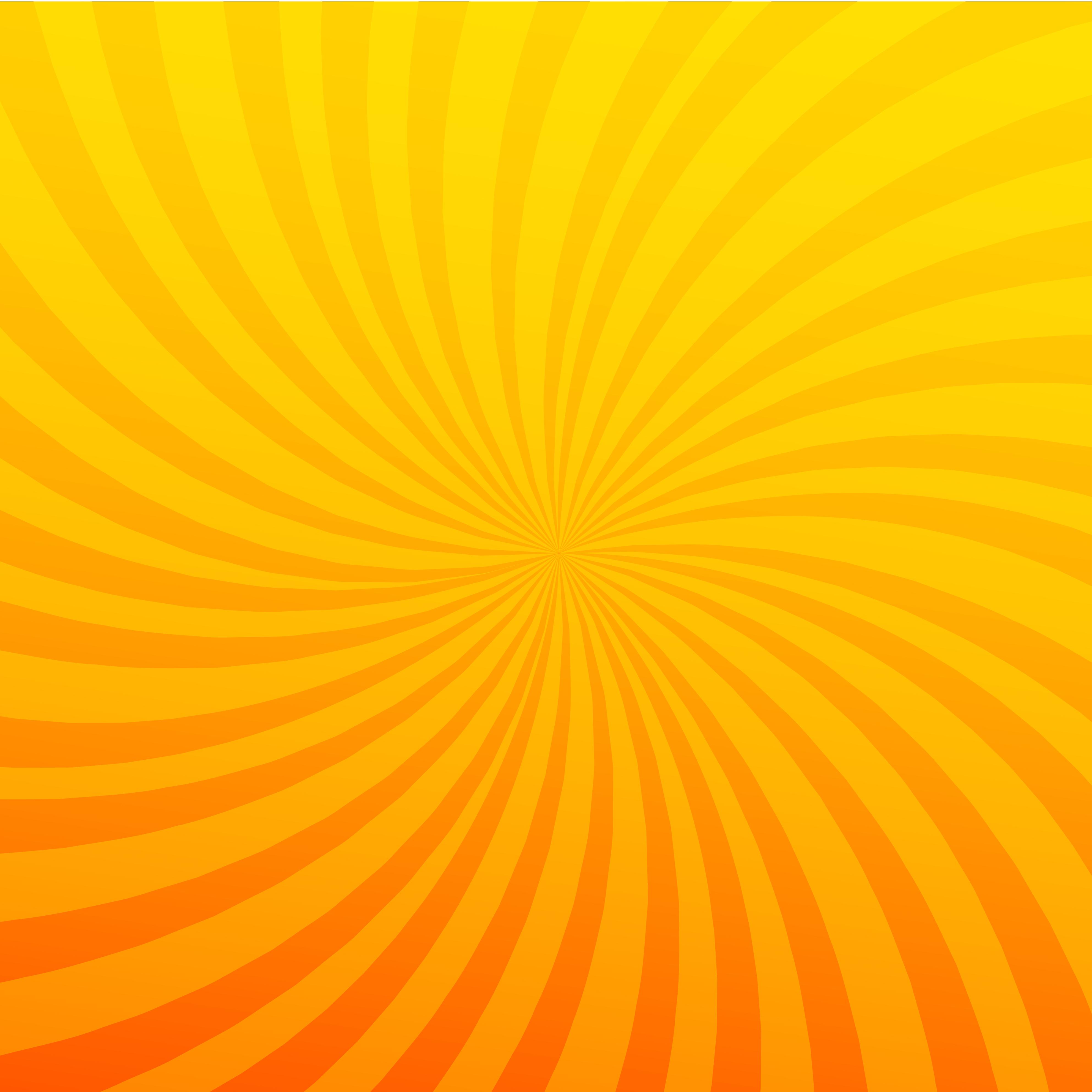 Bright Orange Rays Background Twister Effect Download