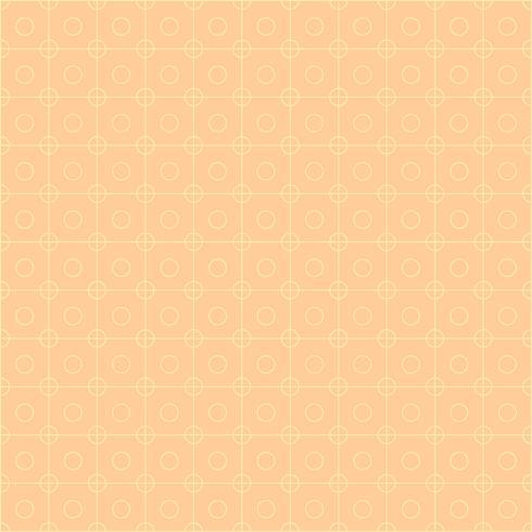 Squares and circles pink grid.
