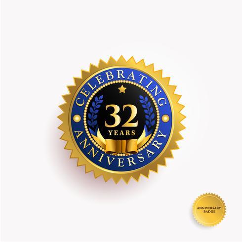 Års jubileums guldmärke