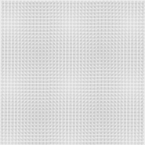 Fond dégradé de points gris.
