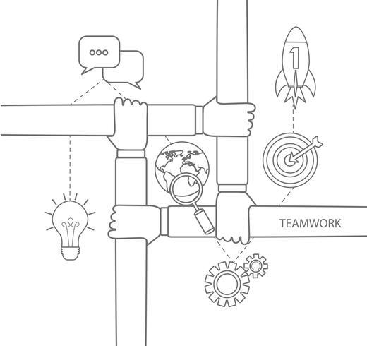 conceito de trabalho em equipe linear