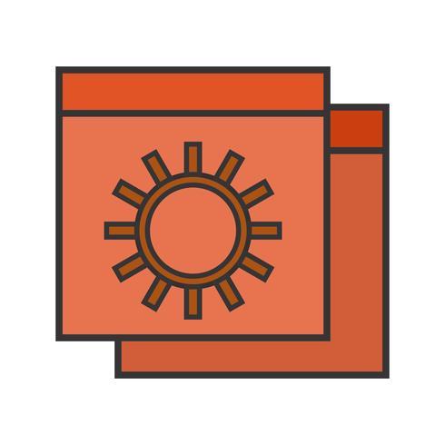 Linie gefülltes Symbol