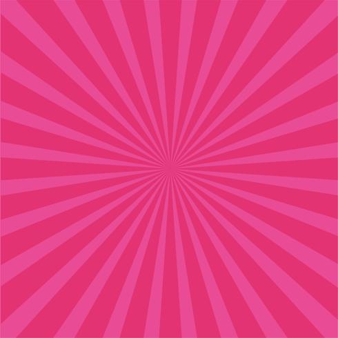 Fond de rayons rose vif.