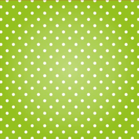 Grüner Hintergrund mit weißen Punkten.