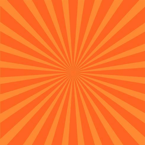 Sfondo di raggi luminosi arancione.