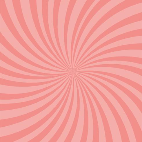 Sfondo di raggi rosa brillante. Effetto Twister.