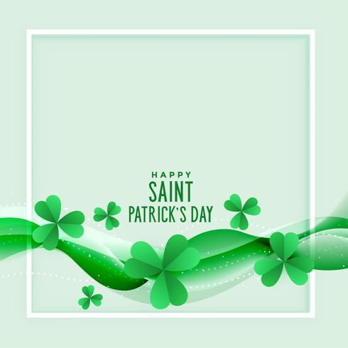 elegante St. Patricks Day Hintergrund