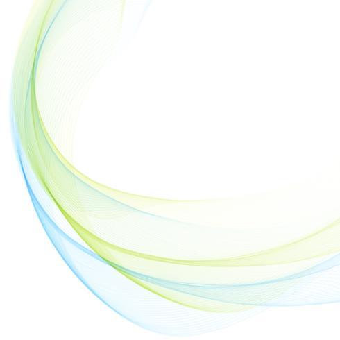 Abstrakter Wellenart-Designhintergrund