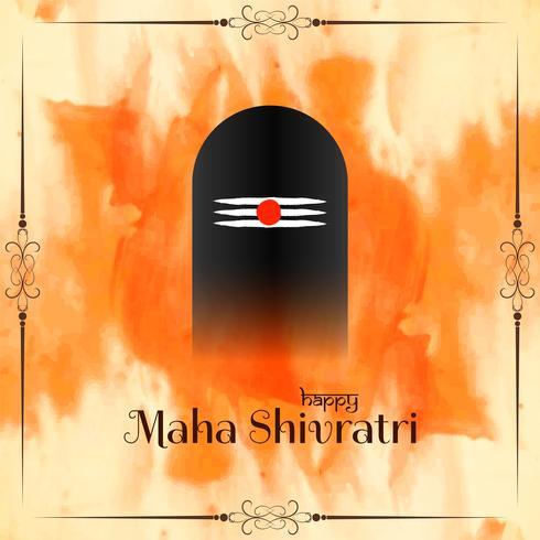 Abstrakter religiöser Hintergrund von Mahashivratri