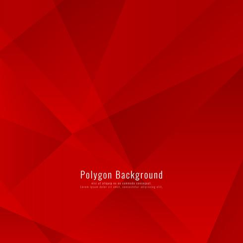 Astratto elegante sfondo poligonale