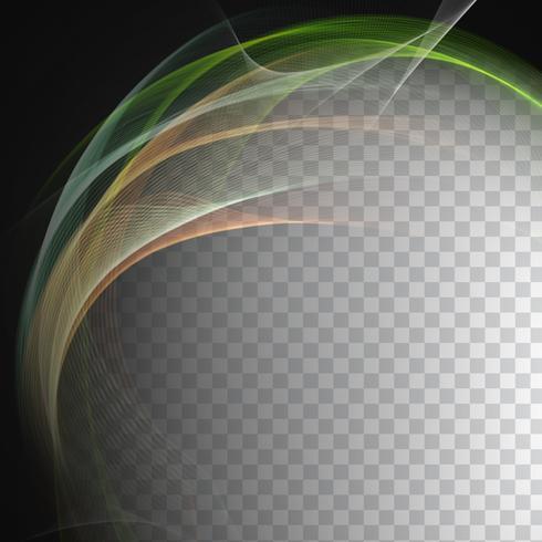 Abstrakter eleganter Wellenart-Designhintergrund