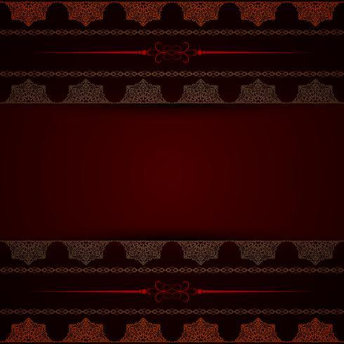 Fondo de mandala decorativo de lujo abstracto