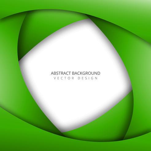 Pappersgrön grönvåg bakgrund