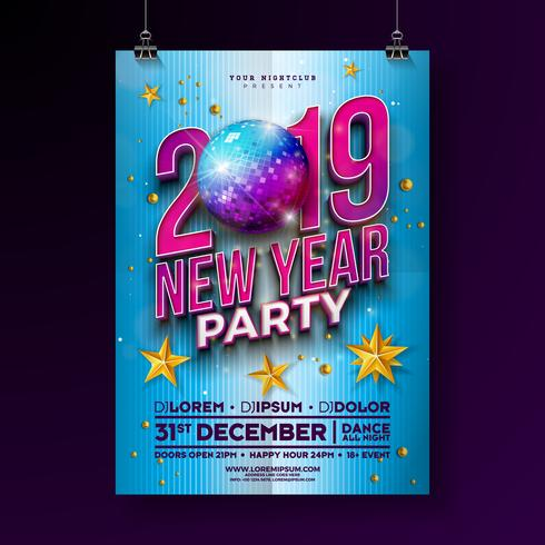 Nyårsfesten Celebration Poster