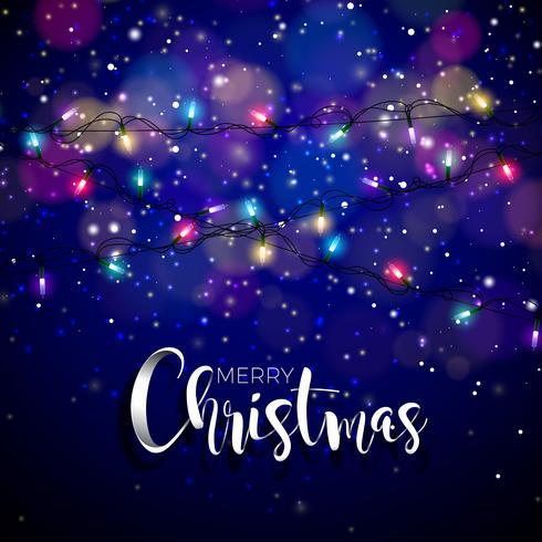 Ilustração do tema de Natal
