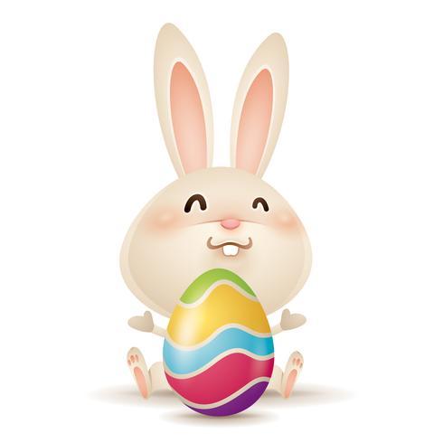 Osterhase und Ei